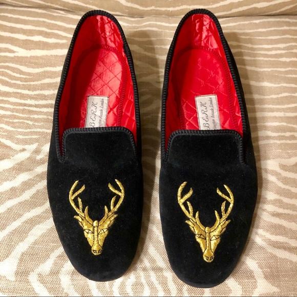 de98f43e1614f Berk Cashmere Other - Men's Velvet Slippers handmade in London by Berk
